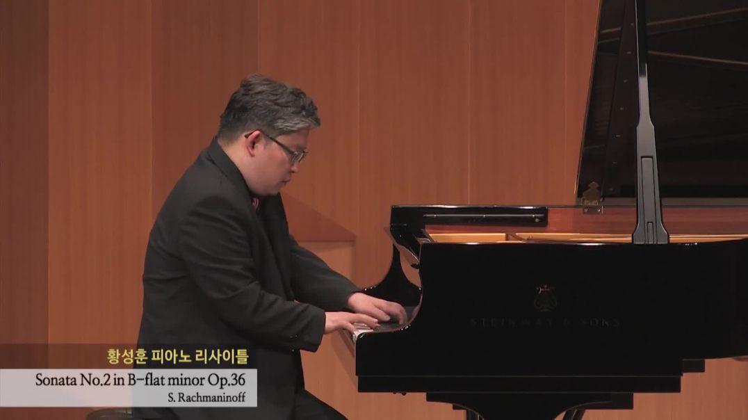 S. Rachmaninoff  Sonata Op.36 no.2 - Sunghoon Simon HWANG