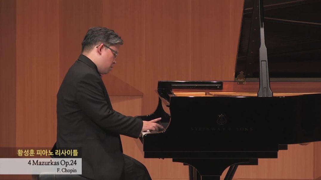 F. Chopin 4 Mazurkas Op.24 - Sunghoon Simon HWANG